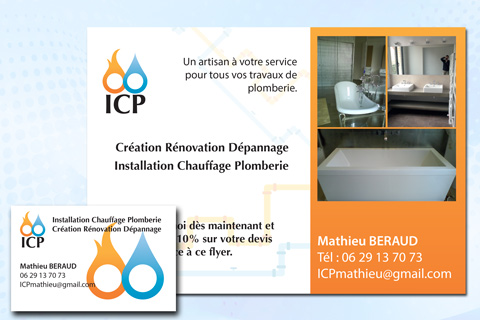 Carte et Flyer ICP
